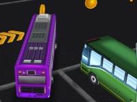 Флеш игра Парковка автобуса 3D 2