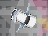 Флеш игра Парковка автомобиля с крыльями