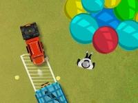 Флеш игра Парковка цирковых автомобилей