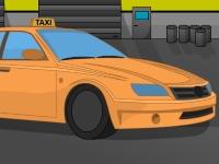 Флеш игра Парковка городского такси