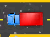 Флеш игра Парковка грузовика на фабрике