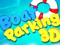Флеш игра Парковка лодки 3D