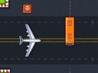 Флеш игра Парковка микроавтобуса в аэропорту