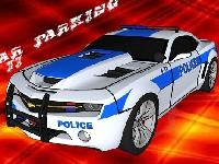 Флеш игра Парковка полицейского авто 2