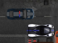 Флеш игра Парковка полицейского авто