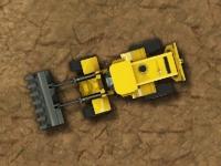 Флеш игра Парковка промышленных машин