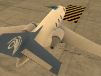 Флеш игра Парковка самолета 3D