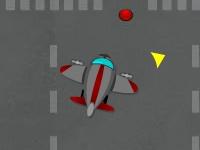Флеш игра Парковка самолета в ангар