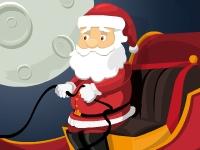 Флеш игра Парковка саней Деда Мороза
