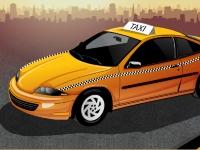 Флеш игра Парковка такси