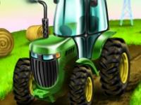 Флеш игра Парковка трактора