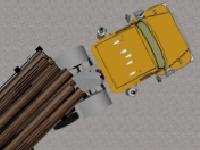 Флеш игра Парковка тяжелых грузовиков