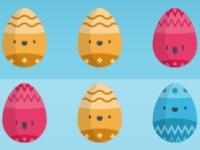 Флеш игра Пасхальные яйца