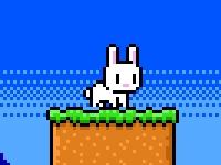 Флеш игра Пасхальный кролик собирает яйца