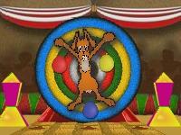 Флеш игра Пасхальный кролик в цирке
