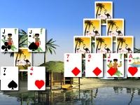 Флеш игра Пасьянс Багамы