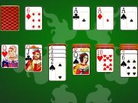 Флеш игра Пасьянс Косынка классический