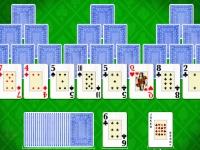 Флеш игра Пасьянс Три Пирамиды