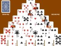 Флеш игра Пасьянс пирамида