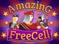 Флеш игра Пасьянс свободная ячейка