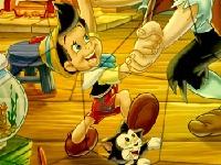 Флеш игра Пазл с Пиноккио
