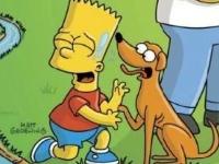 Флеш игра Пазл с Симпсонами
