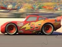 Флеш игра Пазл с гоночным автомобилем