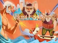 Флеш игра Пазл викинга