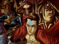 Флеш игра Пазломания: Аватар Аанг