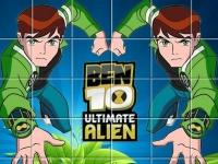 Флеш игра Пазлы с Беном 10