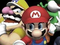 Флеш игра Пазлы с Марио