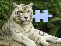 Флеш игра Пазлы с тиграми
