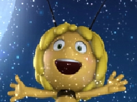 Флеш игра Пчелка Майя собирает конфеты