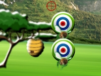 Флеш игра Пчелки-мишени
