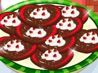 Флеш игра Печеньки от Деда Мороза