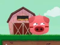 Флеш игра Пердящая свинья
