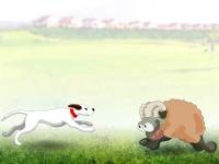 Флеш игра Перепрыгни через овцу