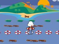 Флеш игра Перепрыгнуть на остров