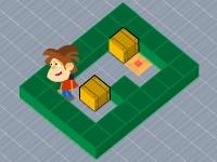Флеш игра Переставь ящики