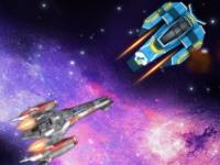 Флеш игра Перестрелка в космосе