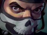 Флеш игра Перестрелка в масках 3