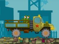 Флеш игра Перевозка солдат