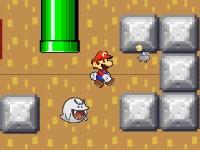 Флеш игра Первая любовь Марио