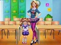 Флеш игра Первый день в школе