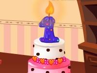 Флеш игра Первый торт для малыша