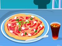 Флеш игра Пицца и холодный напиток