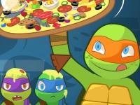 Флеш игра Пицца по рецепту черепашек ниндзя