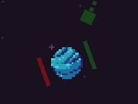 Флеш игра Пиксели и лазеры