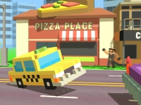 Флеш игра Пиксельное такси