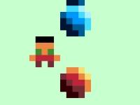 Флеш игра Пиксельные мраморные шарики